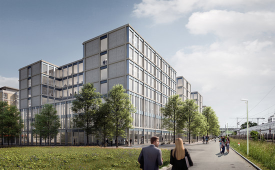 KIM - a lively, multifaceted new neighbourhood being built in Winterthur
