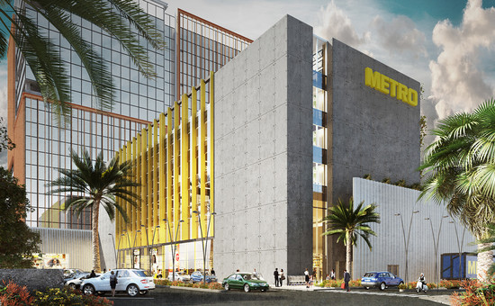 METRO Cash & Carry Store and Mixed-Used Concept, Bangalore India